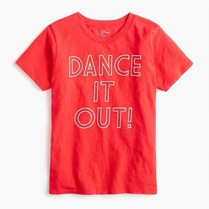 New JCREW Dance It Out T Shirt